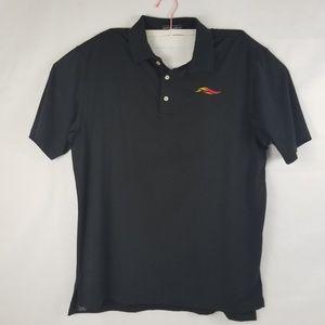 Peter Millar Summer Comfort Black Polo Mens Size L